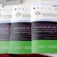 Galerie foto – Seminar de instruire a expertilor din Comitetul Sectorial Turism Hoteluri Restaurante (CS THR), 2-4 Iulie 2015